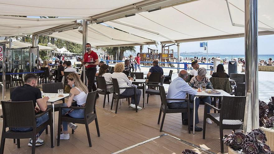 La hostelería cierra un fin de semana con el doble de facturación y similar a antes del covid