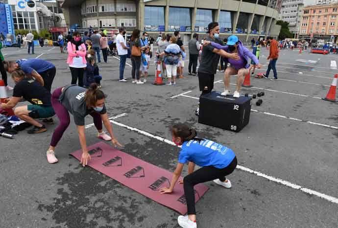 Día del Deporte en A Coruña