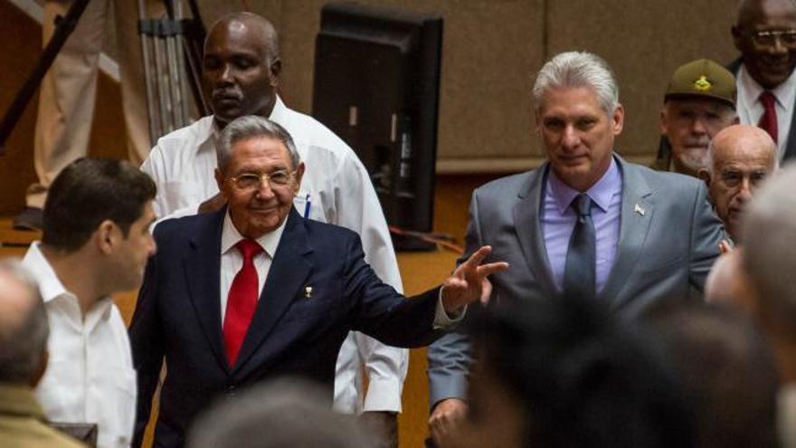 El Parlamento cubano propone a Miguel Díaz-Canel como sucesor de Raúl Castro