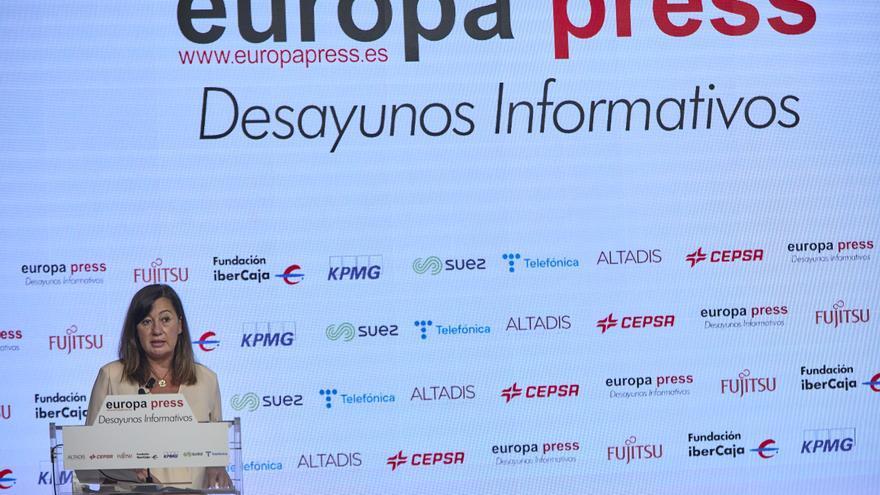 """La presidenta de Baleares: """"España no es solo Madrid"""""""