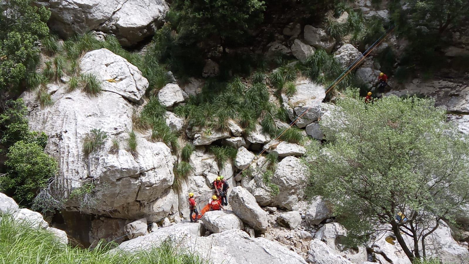 Rescatan a un excursionista en Escorca