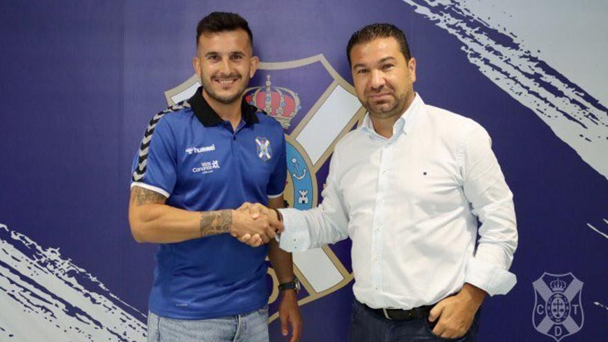 """Elady: """"Me gustaría jugar en Primera y creo que en Tenerife se puede dar"""""""