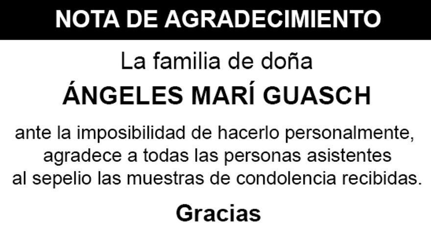 Nota Ángeles Marí Guasch