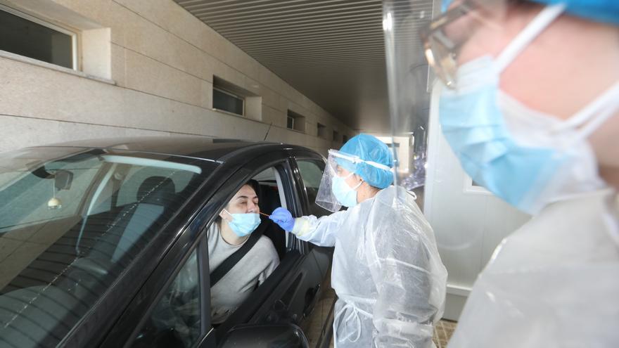 Los nuevos positivos por coronavirus en Castellón bajan a niveles de junio