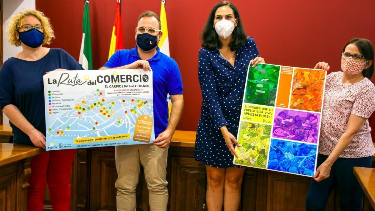 El Carpio celebra este mes una campaña para incentivar el consumo local