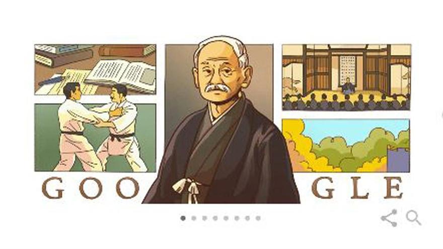 Google dedica su Doodle a Jigorō Kanō, el niño prodigio que fundó el judo