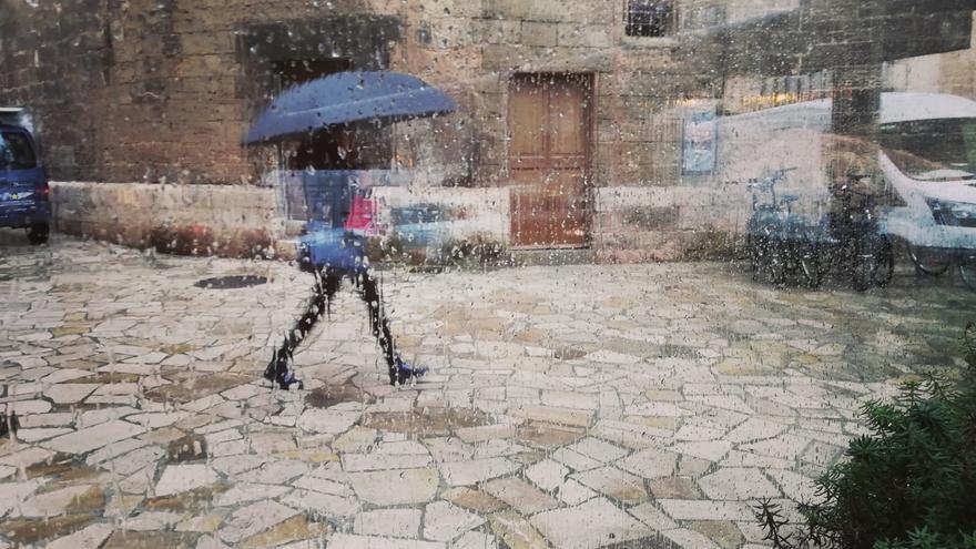 La Aemet prevé para hoy chubascos y tormentas  en Baleares
