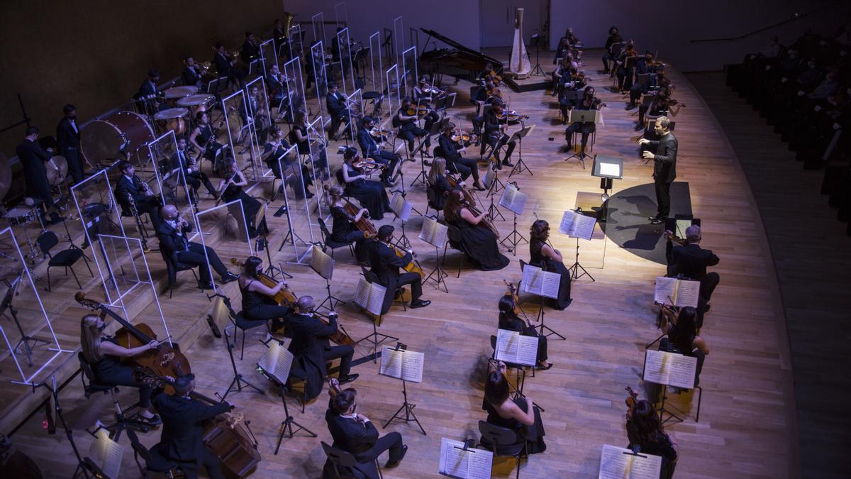 Un concierto reciente de ADDA Simfònica