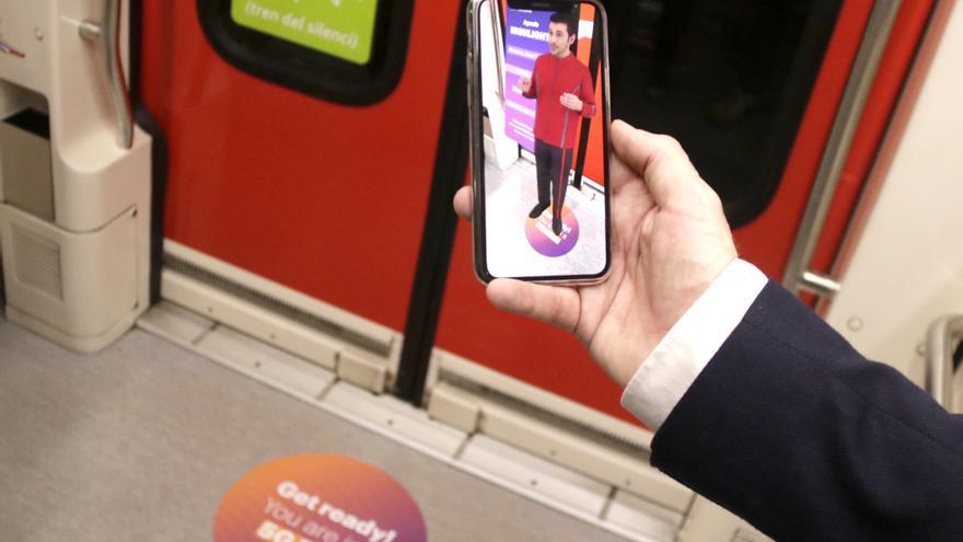 El primer túnel ferroviari d'Europa connectat amb 5G s'estrena a Barcelona