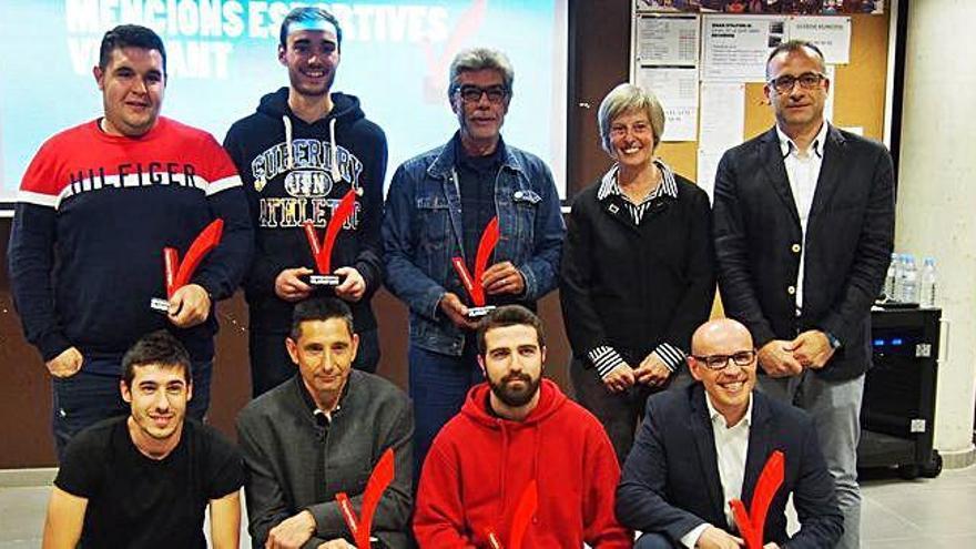 Ruiz, Padró i Masó, premiats al Mencions Esportives