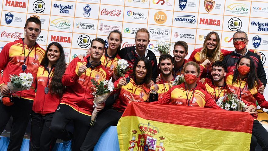 El deportista de Alcàntera de Xúquer Joan Pascual, nuevo campeón del Mundo de frontenis