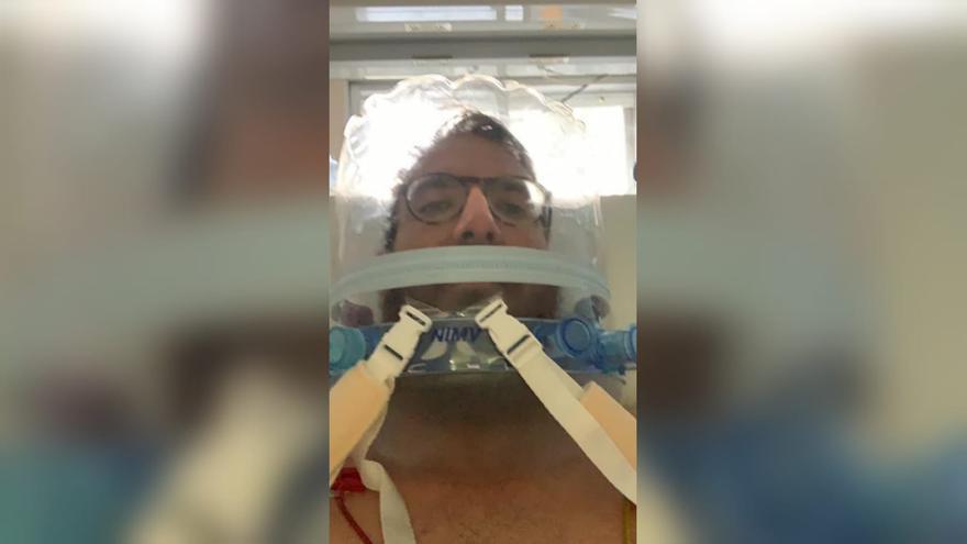 """Un castellonense tras salir de la UCI por coronavirus: """"Llegué a pensar que me moría. Sin la vacuna hubiese sido peor"""""""