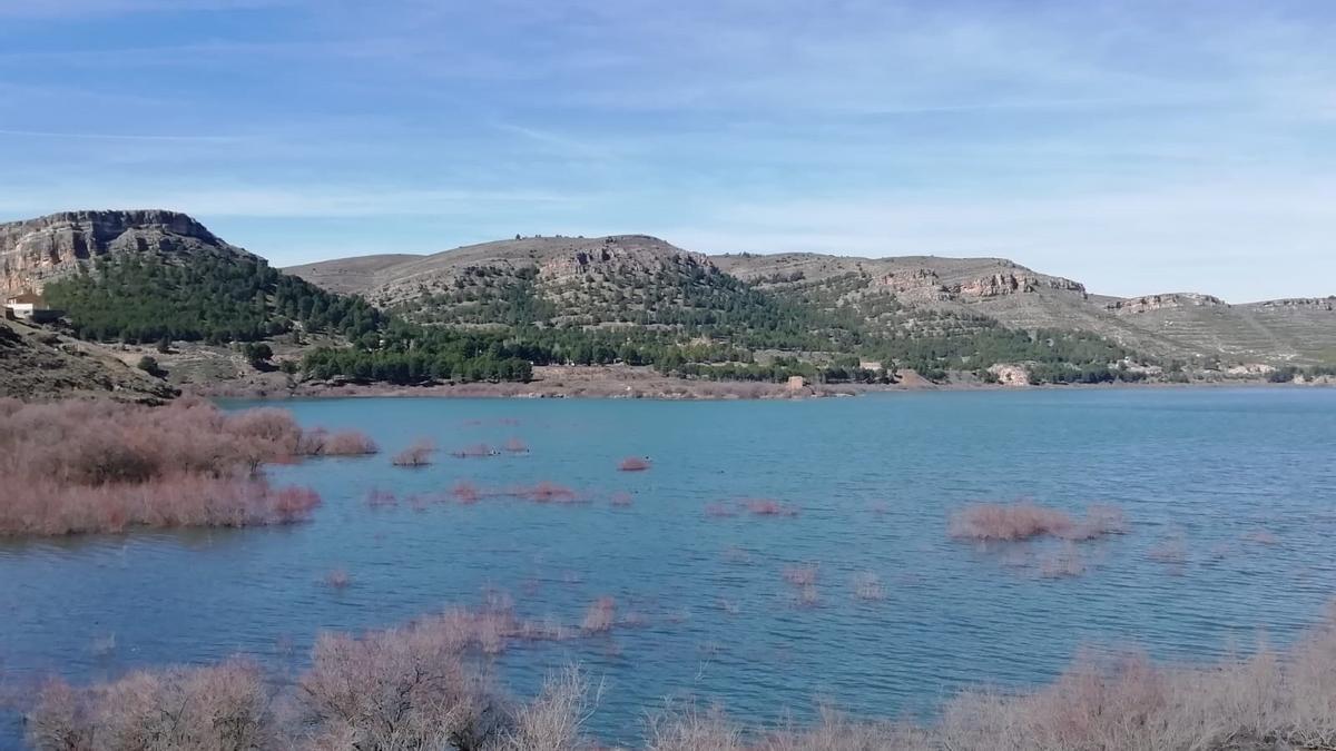 La reserva de agua embalsada en la cuenca del Ebro está a un 73% de la capacidad total.