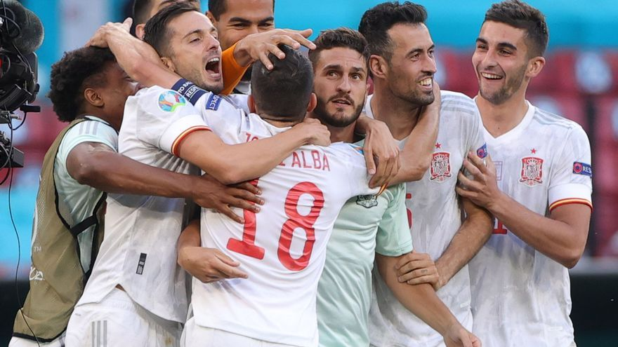 España gana en estado de shock