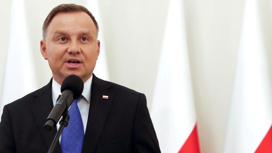 Andrzej Duda, presidente de Polonia, positivo en Covid-19