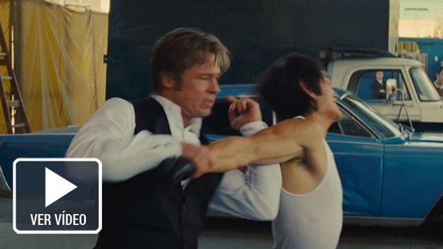 Brad Pitt vs Bruce Lee en el tráiler de 'Érase una vez en ... Hollywood', de Taratino