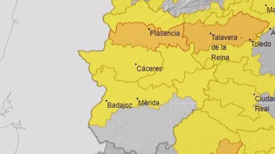 Extremadura continúa en alerta por altas temperaturas