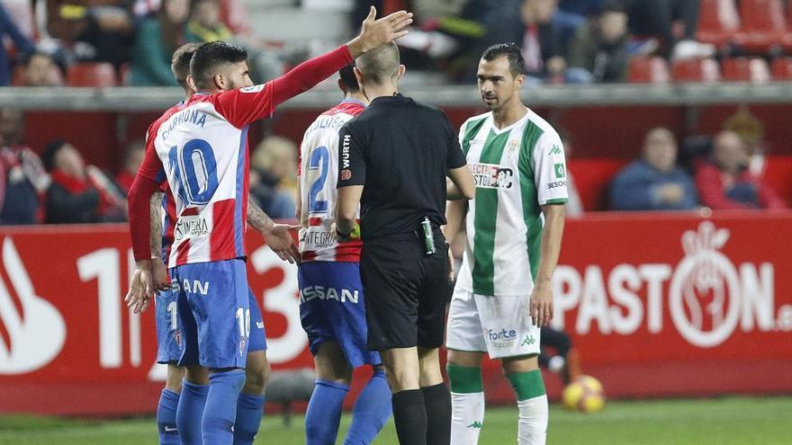 Ávalos Barrera, árbitro para la visita del Sporting a Córdoba