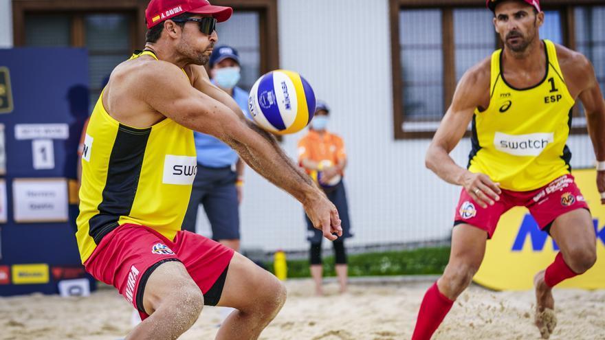 Pablo Herrera se despide de Gstaad para centrarse en los Juegos de Tokio