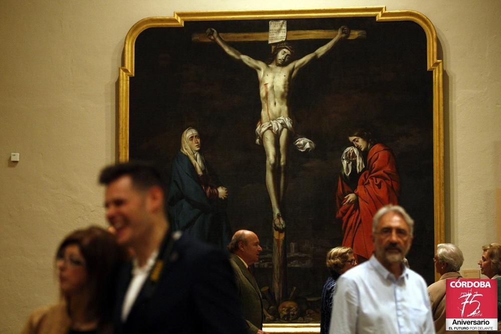 Inauguración de la gran muestra de Antonio del Castillo.