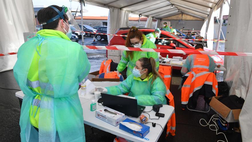 Sanidade anuncia cribados de COVID en Cerceda y Carral