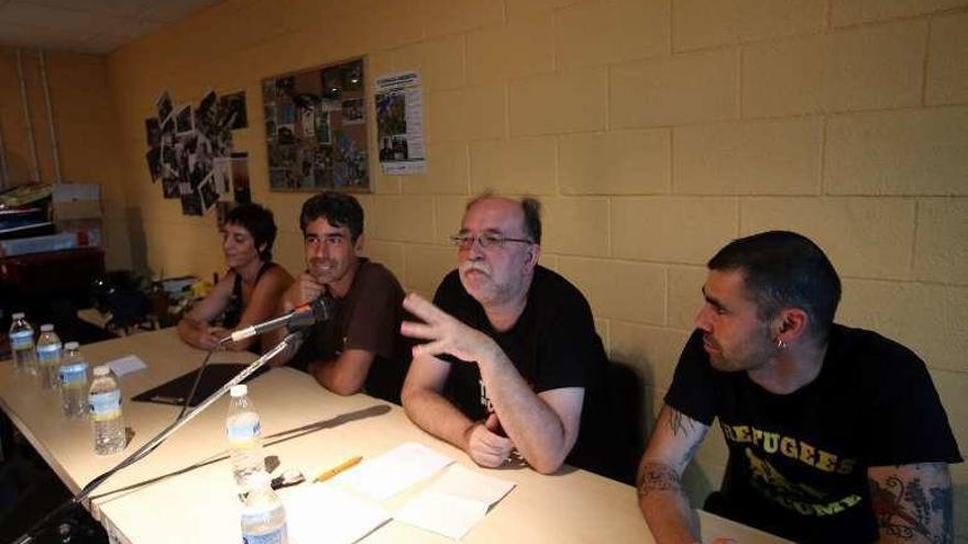 Carlos Taibo habla del futuro del planeta en Coruxo