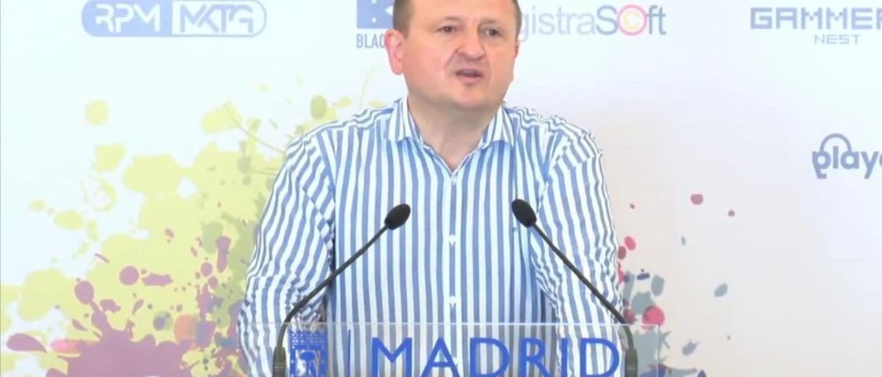 Miguel Ángel Redondo, cobncejal de Ecponomía de Madrid