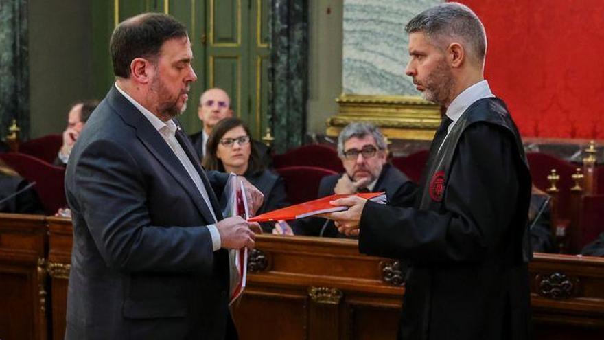 La hora de los acusados en el juicio del 'procés': Hoy declara Junqueras