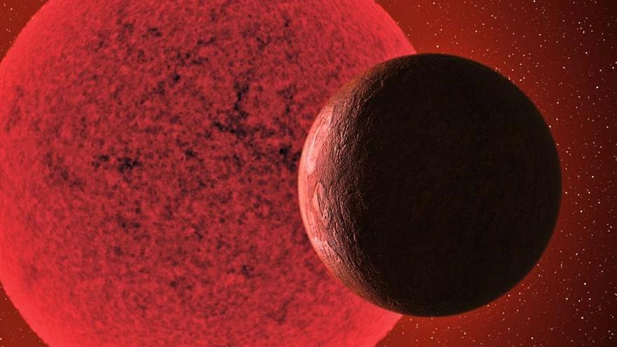 Expertos del IAC descubren una supertierra a 36 millones años luz