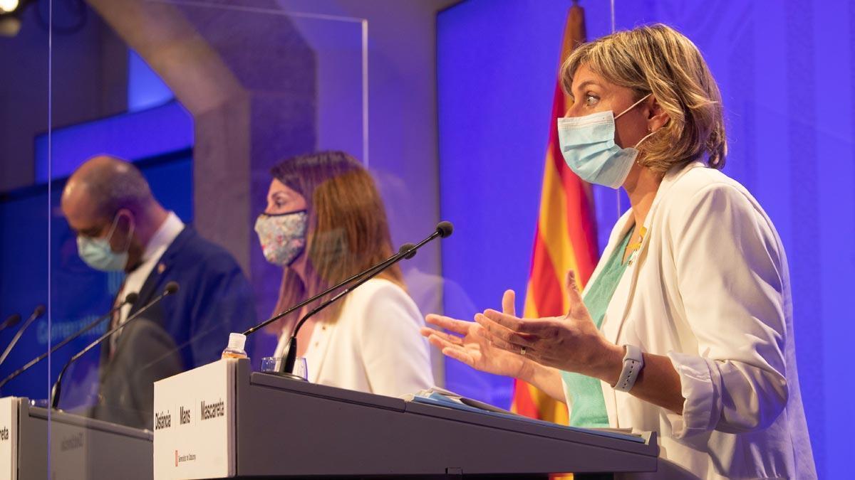 El Govern recomienda no salir de casa en el área de Barcelona