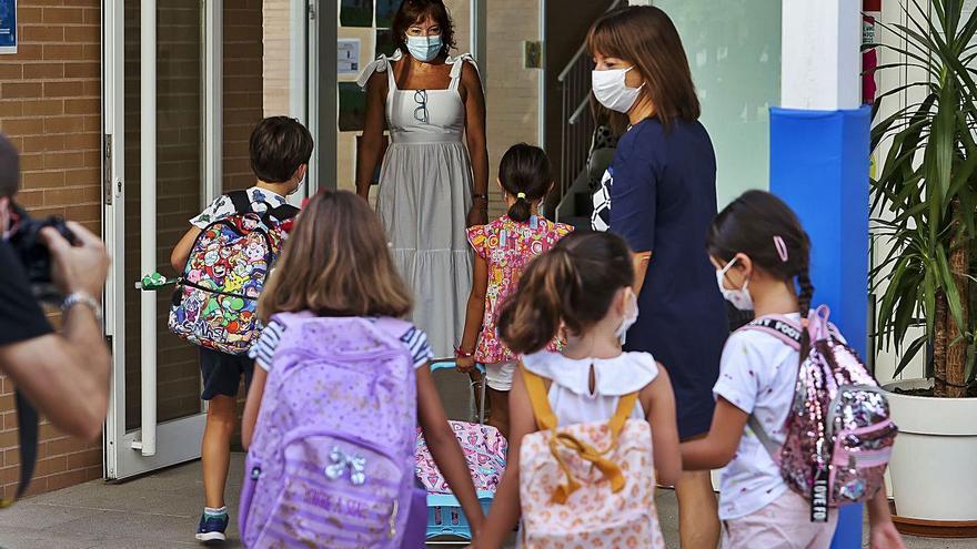 Un contagio covid en Primaria obligará a cerrar toda el aula