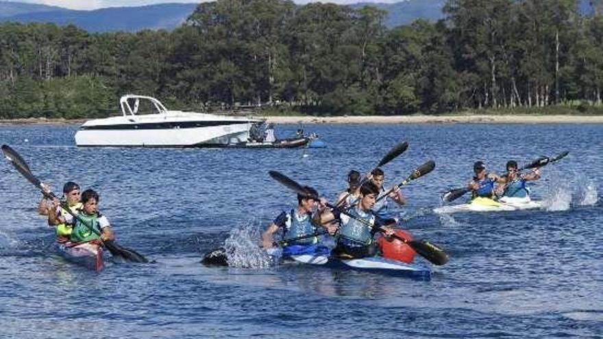 Pontecesures acaba segundo en aguas mecas