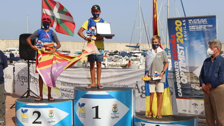 Águilas corona a los nuevos campeones de España de vela