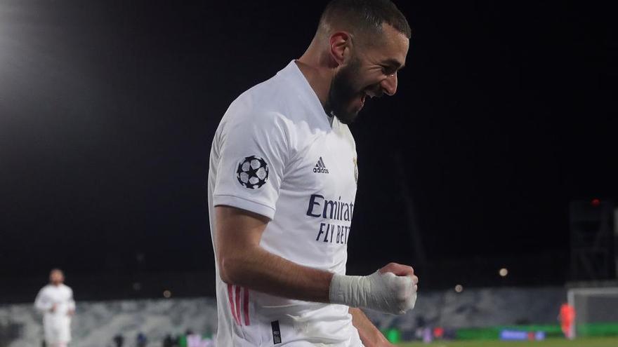El Madrid supera la final ante el Gladbach y pasa como primero de grupo