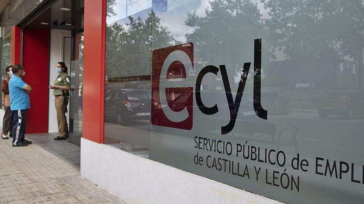 Oficinas del Ecyl en la calle de Doctor Fleming de Zamora.