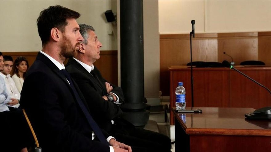La fiscalía decide no recurrir la condena a Messi