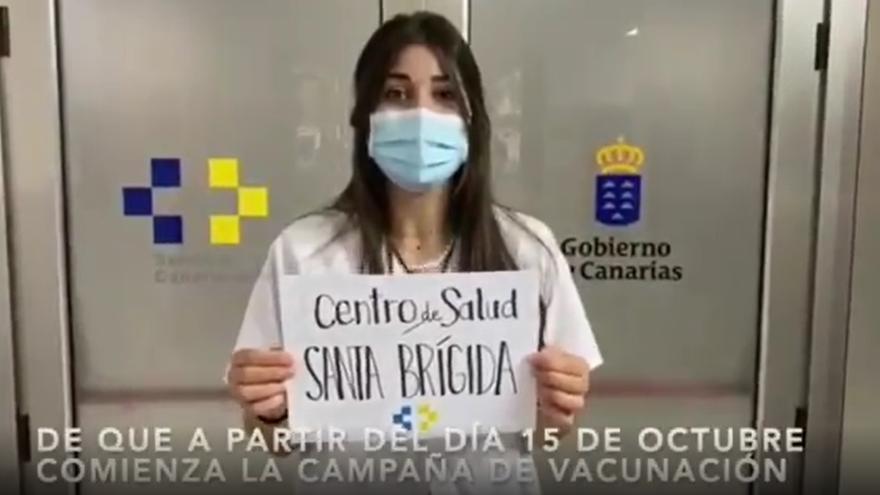 Vacunación de la gripe en Canarias