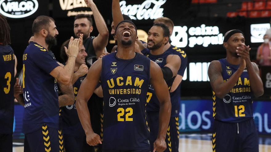 El UCAM CB firma el mejor arranque en sus 24 años en la ACB