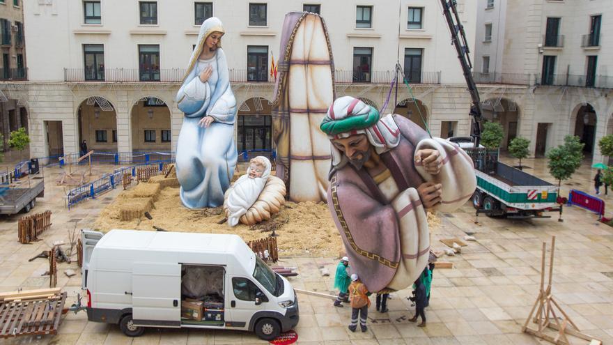 Se «busca» ubicación para el Belén Gigante de Alicante