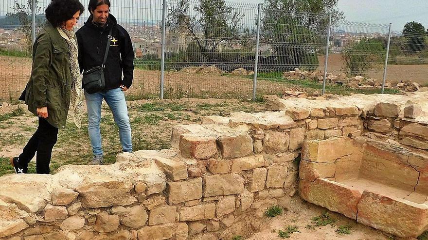 Localitzen a Santa Caterina restes d'una vil·la romana datada de l'entorn del segle I