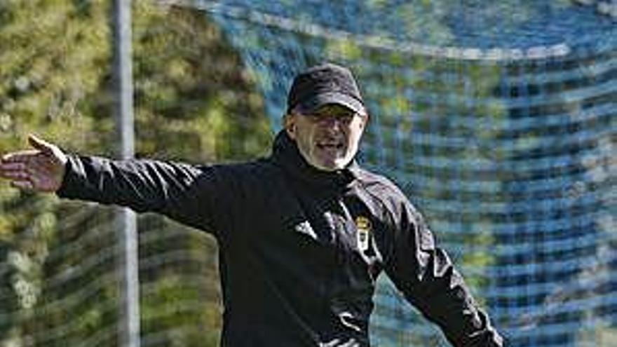 Anquela, el entrenador que hace grupo