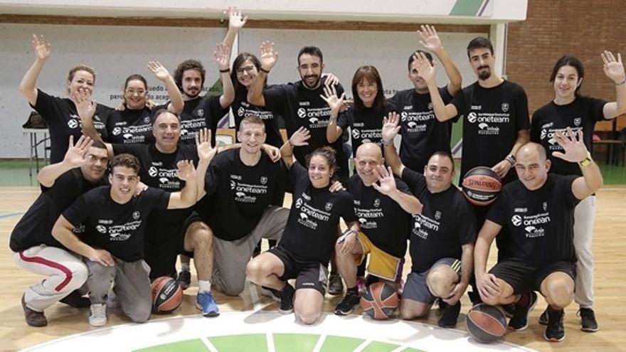 El Unicaja, uno de los mejores clubes europeos por su labor social