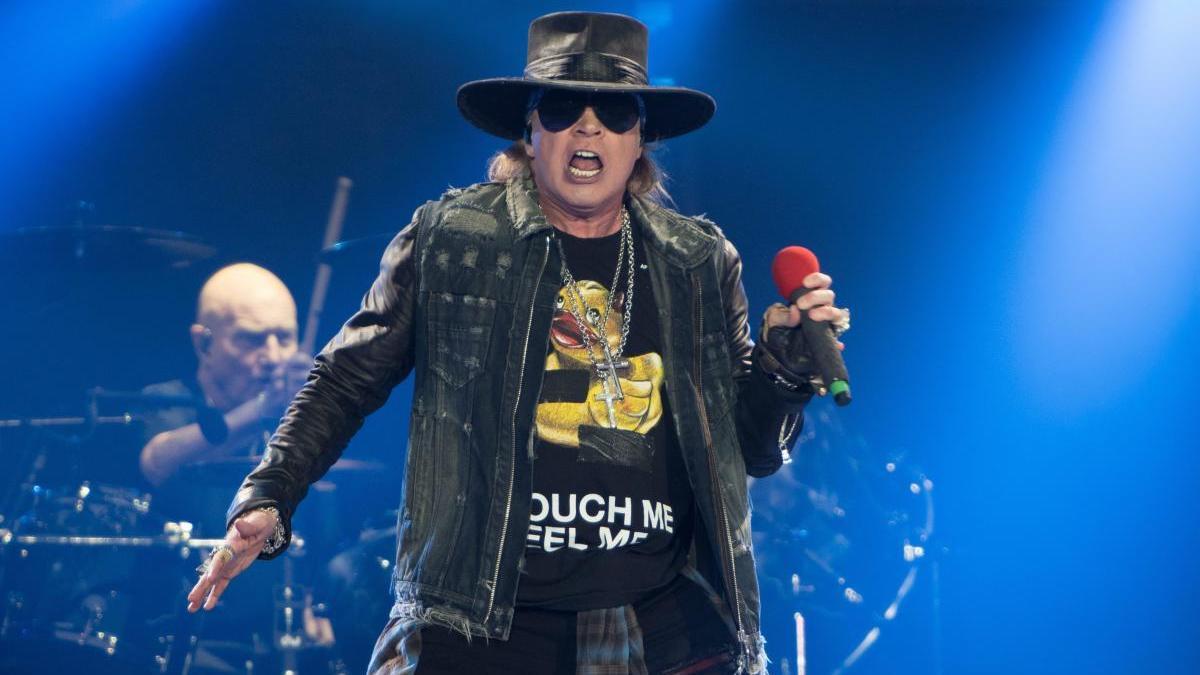 El cantante de Guns n' Roses, Axel Rose