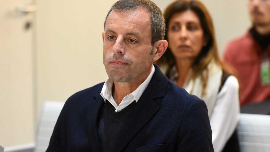 El fiscal demana dos anys i nou mesos de presó a Sandro Rosell per frau fiscal