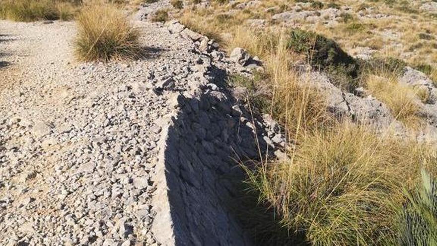 Pollença restaurará el camino construido por presos republicanos en los años 40