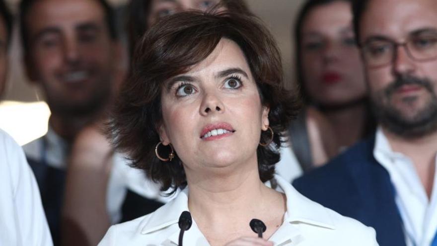 El Govern nomenarà avui Soraya Sáenz de Santamaría membre del Consell de l'Estat
