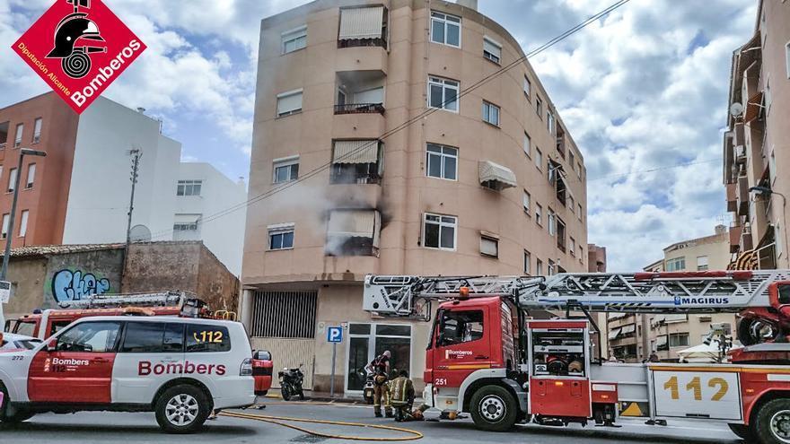 Impecable coordinación de los Servicios de Emergencias en el incendio en La Vila