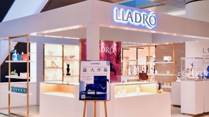 Lladró afianza su presencia en China con la apertura de una tienda propia en Pekín