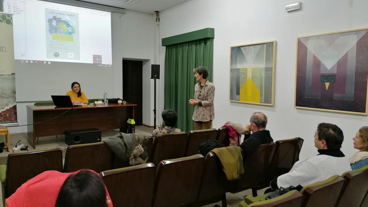 Toresanos asisten a una conferencia en una edición anterior de las jornadas por el clima