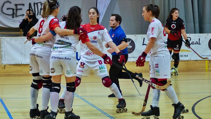 Lo mejor del hockey español en el Telecable- Palau: Un partido de selección